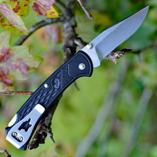"Buck 112 Slim Ranger Select Lock Back, 2.88"" 420HC Plain Blade, Black Handle"