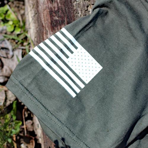 Tops Operator 7 T-Shirt, OD Green - Large