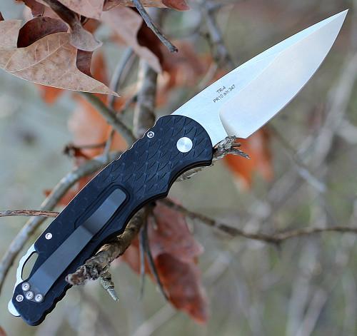 "ProTech Tactical Response 4 TR-4.F5, 4.0"" 154 CM Stonewash Blade, Aluminium Handle"