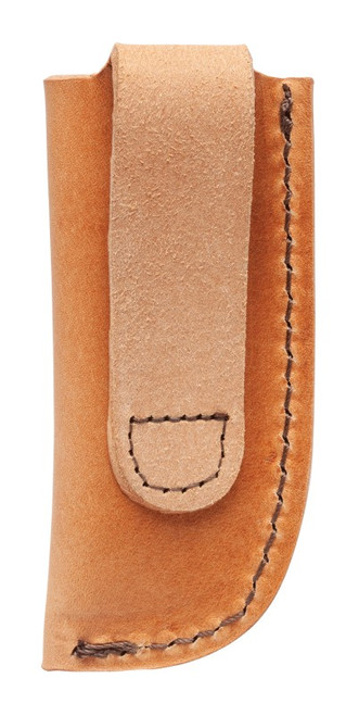 Case 50289 Large Brown Leather Sheath,  Open Top