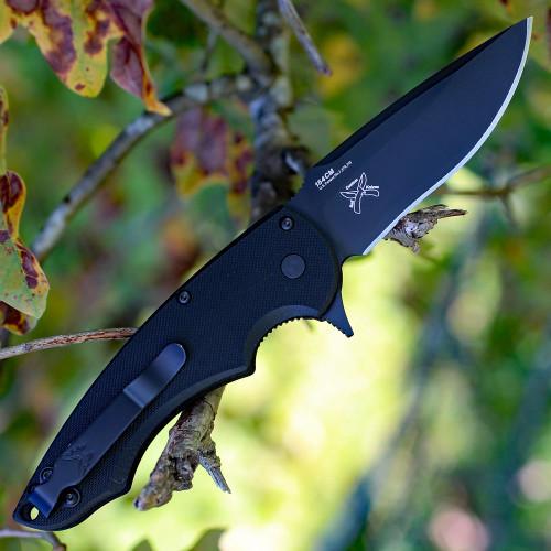 "Benchmade BM320BK Precinct, 3.30"" 154CM SS Plain Blade, G-10 Handle-Discontinued"