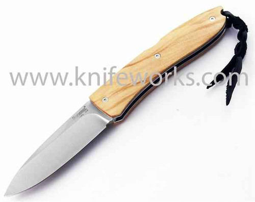 Lionsteel opera d2 acero hirschhorn navaja cuchillo de caza 8800ce