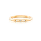 Little Darlings Diamonds Yellow Gold Ring
