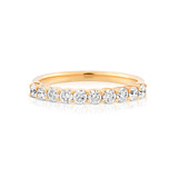 .62 Diamond Eternity Ring in Yellow Gold