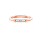 Little Darlings Diamonds Rose Gold Ring
