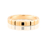 Beam Yellow Gold Ring Band
