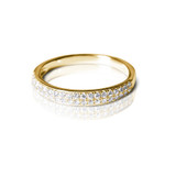 Nella Diamond Yellow Gold Eternity Ring