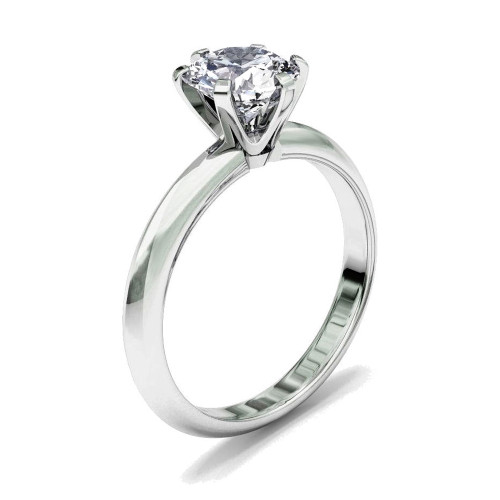 Diamond Classic Solitaire Engagement Ring