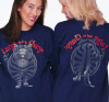 LARGE IN CHARGE CAT T-SHIRT NAVY