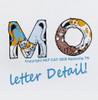 The letters are formed by cats contorting themselves into letters of the alphabet. Cats are so very flexible! Exclusive cat shirt design by Hep Cat, available only at Meow.Com.