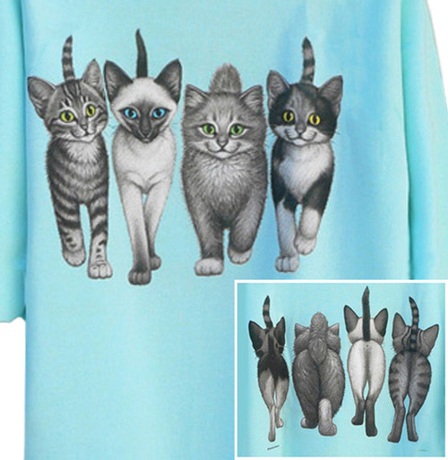 KITTENS COMING AND GOING T-SHIRT MINT