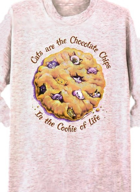 COOKIE CATS SWEATSHIRT ASH