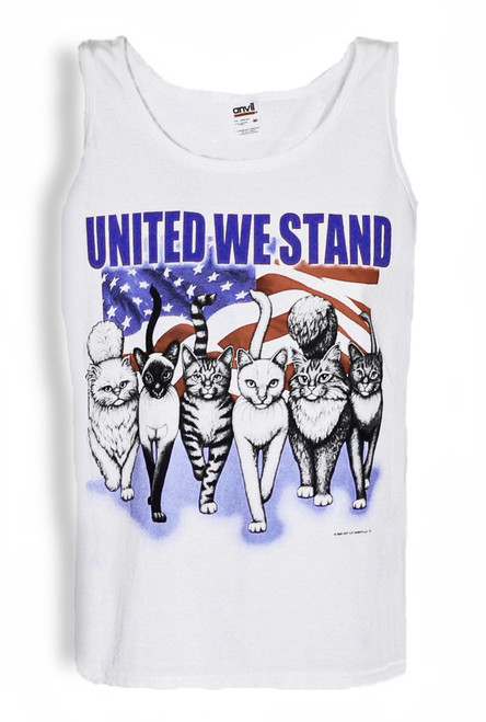 UNITED WE STAND CAT TANK TOP