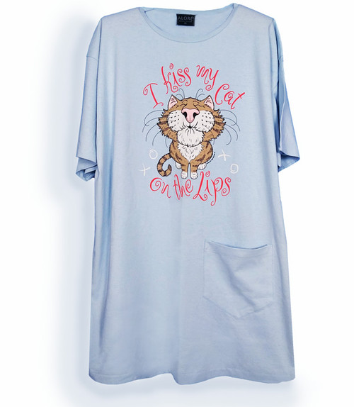 KISS MY CAT NIGHTSHIRT