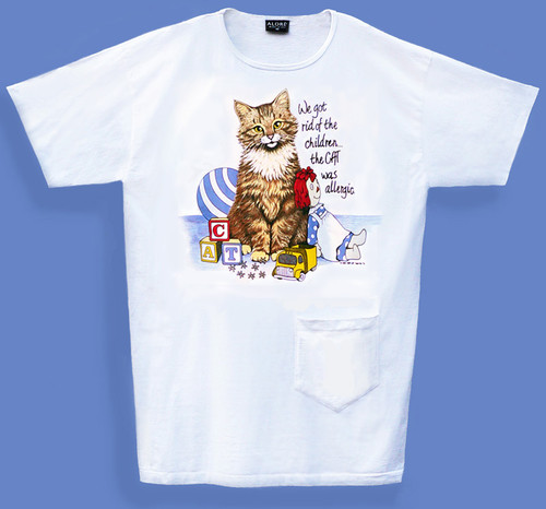 ALLERGIC CAT NIGHTSHIRT