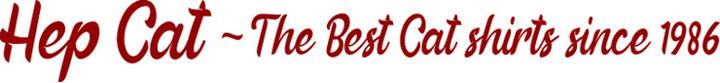 Hep Cat~ The Best Cat Shirts since 1986