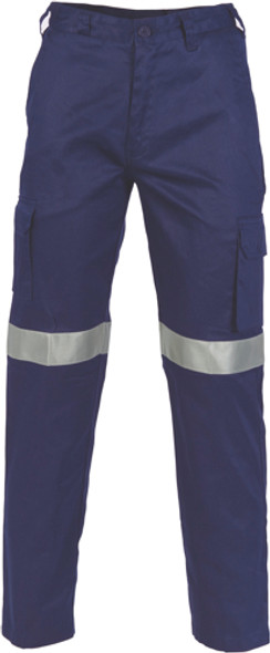 3326 - Lightweight Cotton Cargo Pants with 3M R/Tape