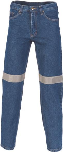 3327 - Denim Jeans With CSR R/Tape