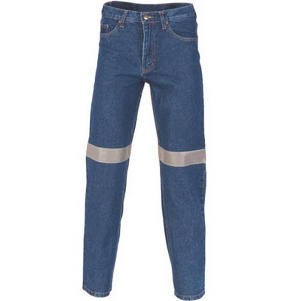 3347 - Taped Denim Stretch Jeans