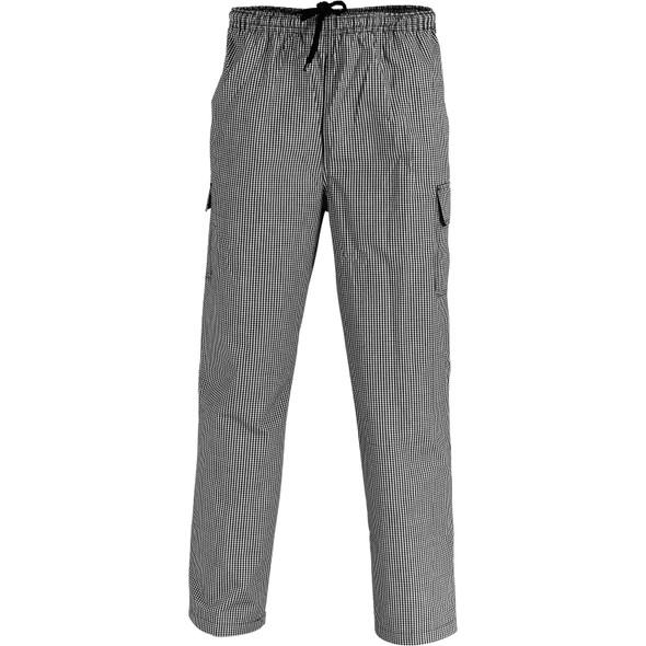 1506 - Drawstring Poly Cotton Cargo Pants