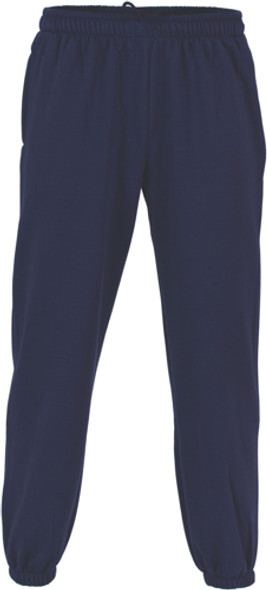 5401 - 300gsm Poly/Cotton Fleecy Track Pants