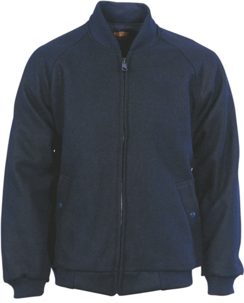 3602 - Bluey Jacket with Ribbing Collar & Cuffs