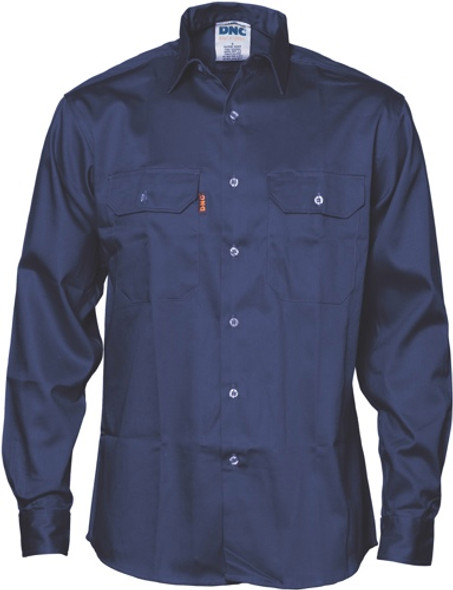 3402 - Patron Saint Flame Retardant Drill Shirt, Long Sleeve