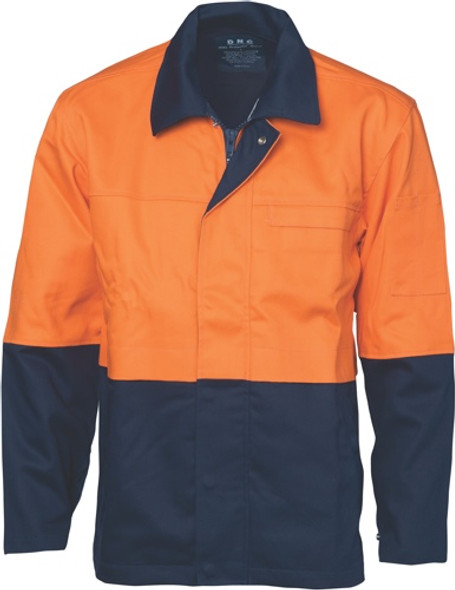 3431 - Patron Saint Flame Retardant Two Tone Drill Welder's Jacket