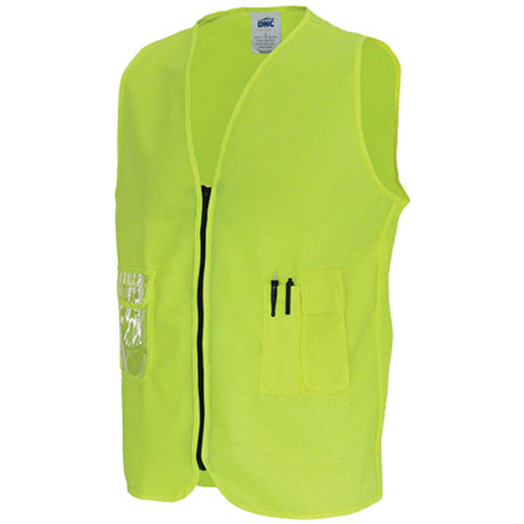3806 - Daytime Side Panel Safety Vests - Yellow