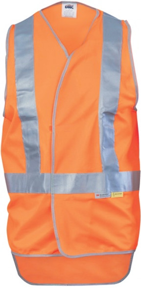 3802 - Day/Night Cross Back Safety Vests w/Tail
