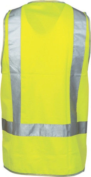3804 - Day & Night Safety Vest with H Pattern