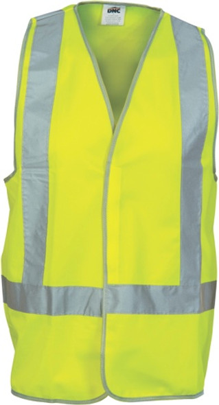 3805 - Day/Night Safety Vest H Pattern front & Cross Back
