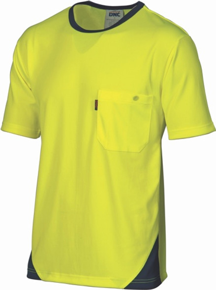 3711 - HiVis Cool-Breathe Tee - Short Sleeve