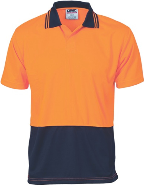 3903 - 175gsm HiVis Food Industry Polo, S/S
