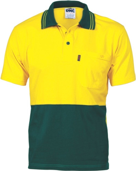 3845 - 200gsm Cotton Jersey Polo Shirt w/Vents
