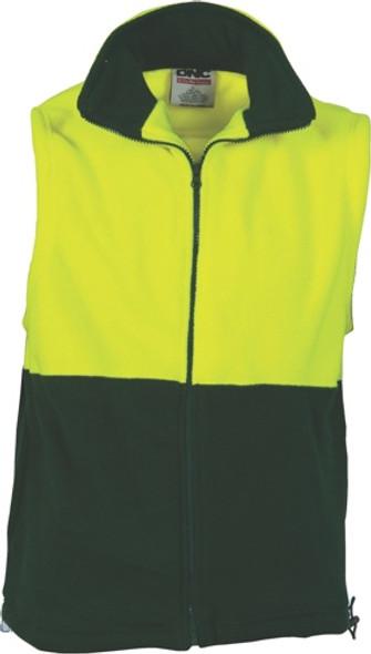 3828 - 300gsmTwo Tone Full Zip Vest