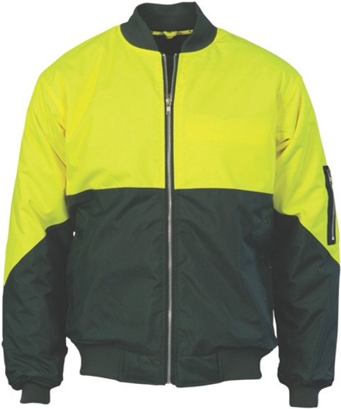 3861 - 300D Polyester/PU HiVis Flying Jacket
