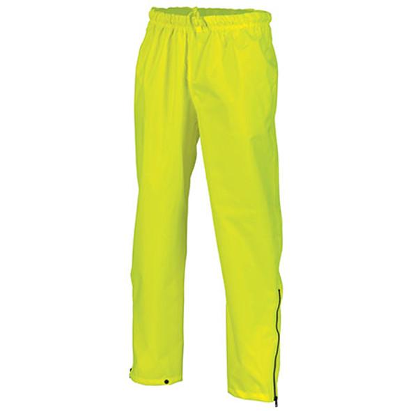 3874 - Hi Vis Day Breathable Rain Pants - Yellow