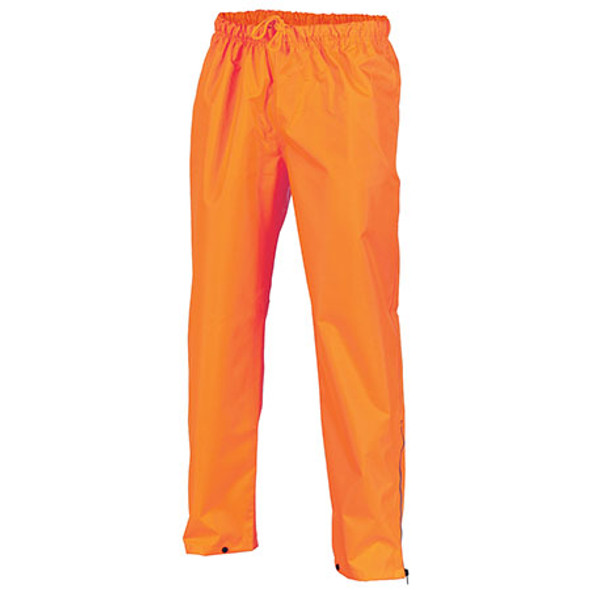 3874 - Hi Vis Day Breathable Rain Pants - Orange