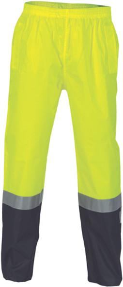 3880 - 190D Polyester/PU L/W Rain Pant w/Tape