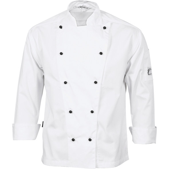 1106 - Three Way Air Flow Chef Jacket - Long Sleeve
