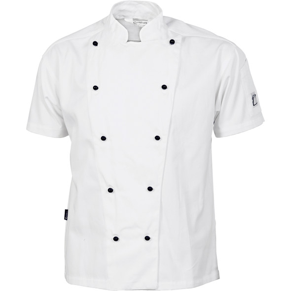 1103 - Cool-Breeze Cotton Chef Jacket - Short Sleeve