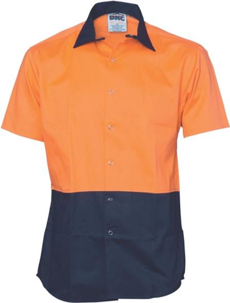 3941 - 190gsm HiVis Food Industry Shirt, S/S
