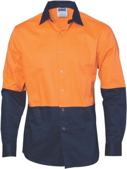 3942 - 190gsm HiVis Food Industry Shirt, L/S
