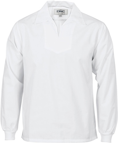 1312 - V-Neck Food Industry Jerkin - Long Sleeve