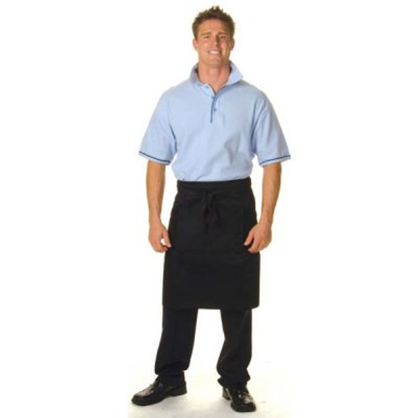 2302 - Cotton Drill 3/4 Apron No Pocket
