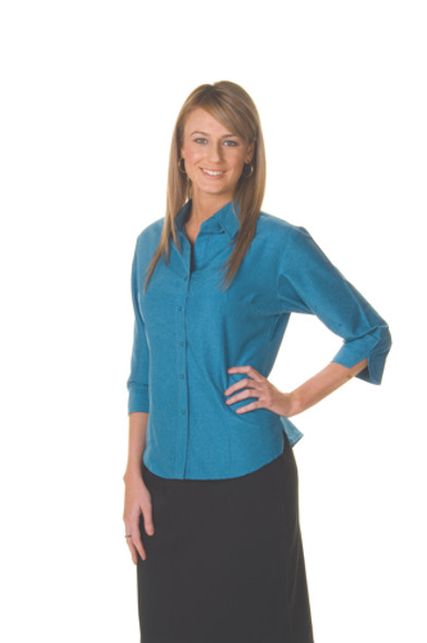 4238 - Ladies Cool-Breathe Shirt,3/4 Sleeve