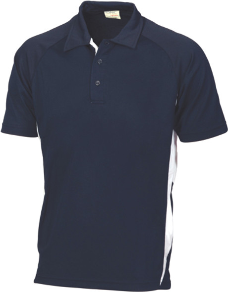 5221 - Adult Cool-Breathe Side Panel Polo Shirt