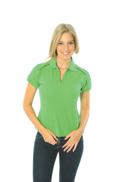 5259 - Ladies Cotton Rich Paris Polo