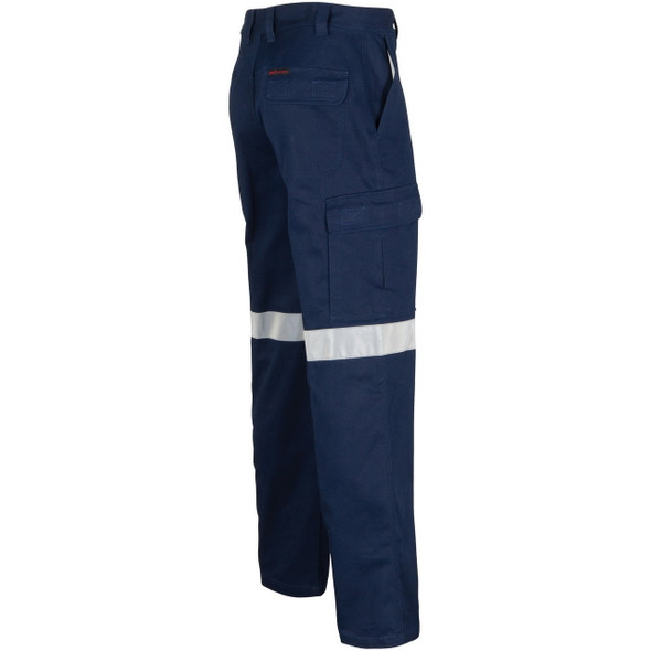 3360 - Middle Weight Cotton Double Angled Cargo Pants With CRS Reflective Tape